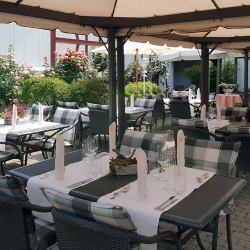 Gartensitzplatz Hotel Zur Post